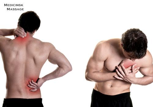 massage nacke och axlar